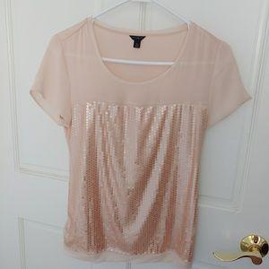 Ann Taylor XS pink top